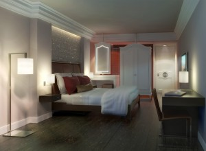 Rendering of the Tribeca Hotel