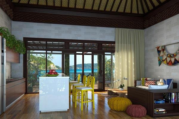 Sarani Resort Living Room