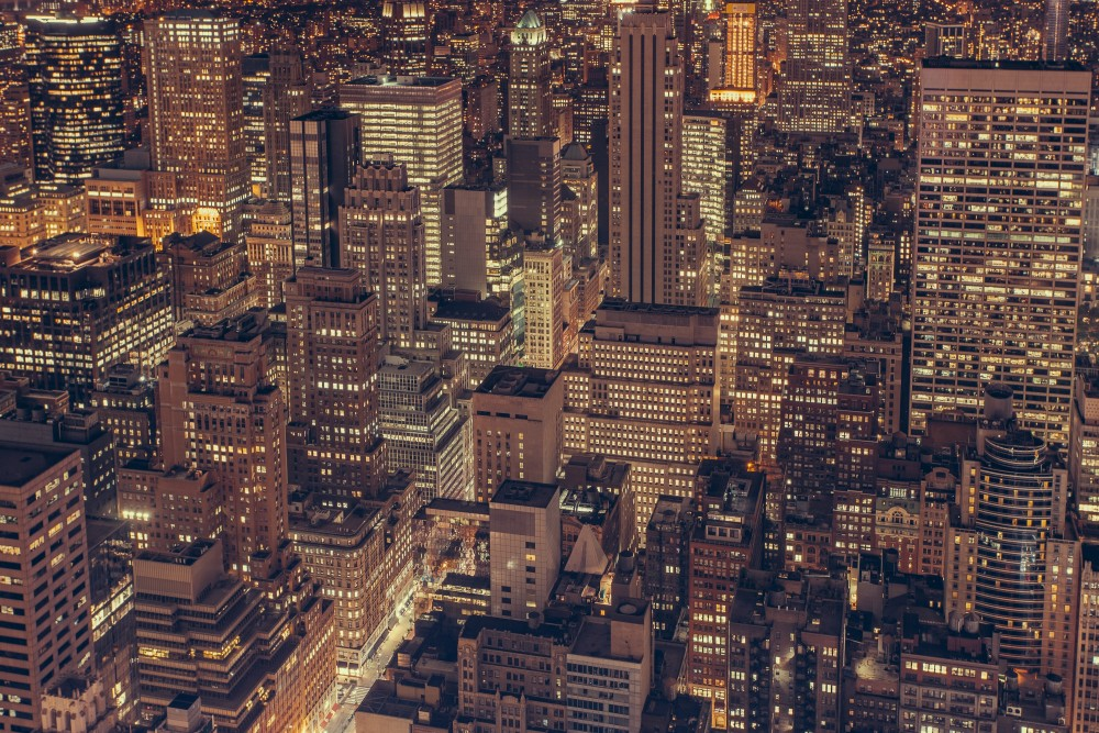 City Night View Unsplash